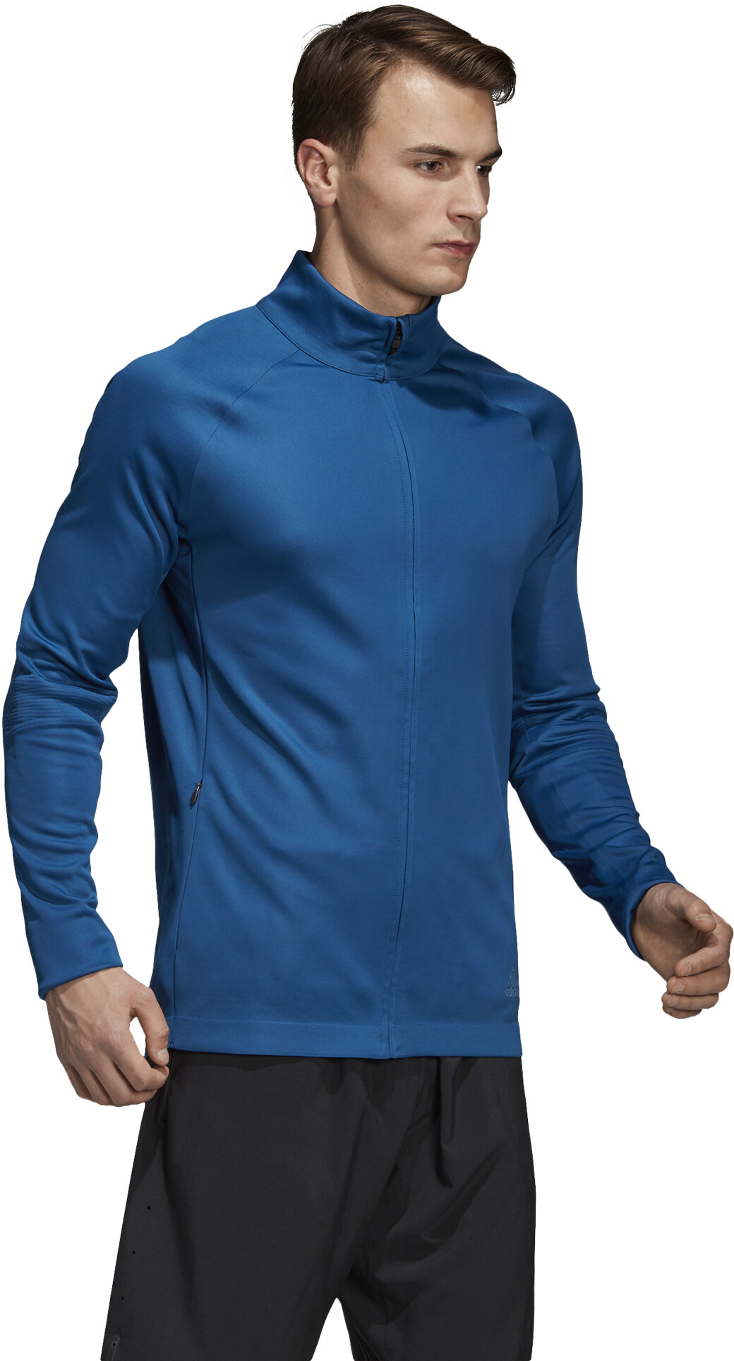 super popular 5e8d6 040f8 adidas PHX Running Jacket Men blue